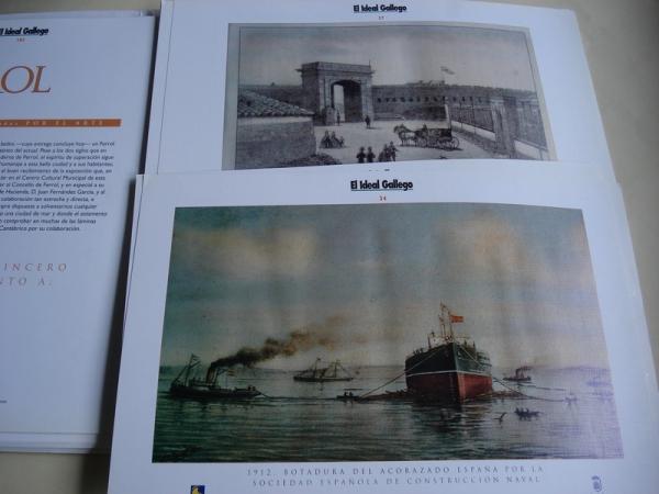 Ferrol 1714 - 1914. Dos siglos grabados por el arte. 100 grabados en color en carpeta (Consuelo Arias Galindo, coord.)