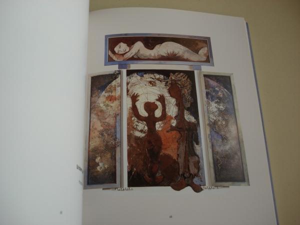 FELIPE CRIADO. Pinturas e debuxos 1989-1999. Exposición Casa da Parra, Santiago de Compostela, 2000