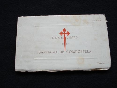 2 álbumes: 24 vistas de Santiago de Compostela. 1ª Serie / 2ª Serie. 24 tarxetas postais
