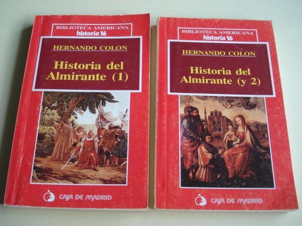 Historia del Almirante (1 y 2). 2 tomos