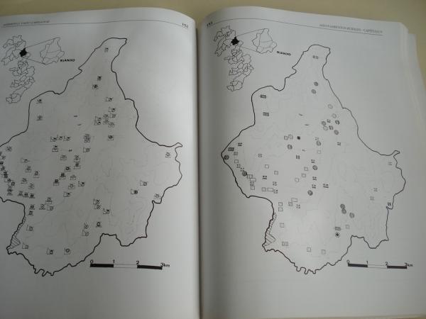 La trama de los asentamientos rurales en las Rías Bajas gallegas