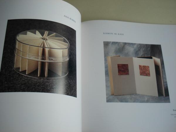 Libros de artista. Católogo de exposición Sala de Exposicións da Biblioteca Provincial da Coruña, 1995