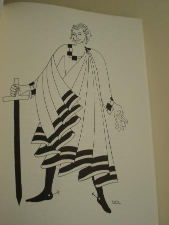 El libro de Santiago. Dibujos de J. Sesto