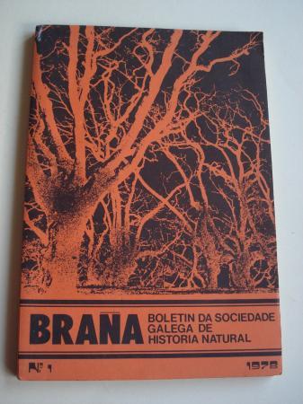 BRAÑA. Boletín da Sociedade Galega de Historia Natural. Nº 1 - 1978