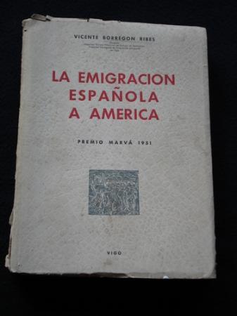 La emigración española a América