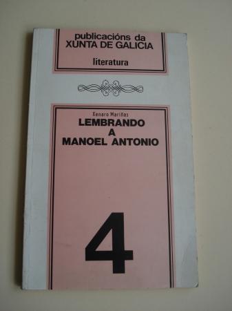 Lembrando a Manoel Antonio