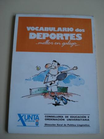 Vocabulario dos deportes... mellor en galego   (Con vocabularios galego-castelán e castelán-galego)
