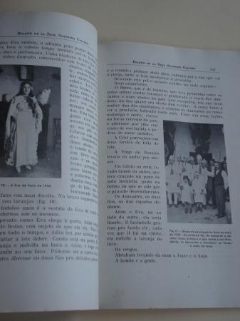 Boletín de la Real Academia Gallega. Números 281-284. A Coruña, Junio 1945 (Vicente Risco, Xaquín Lorenzo, Ramón Villar Ponte...)