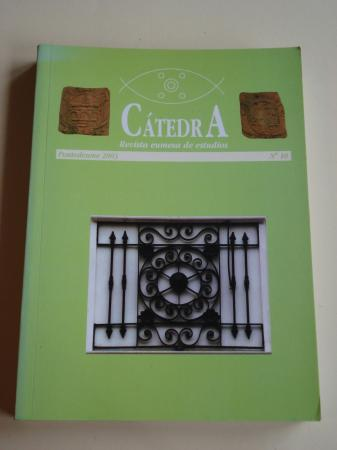 CÁTEDRA. Revista eumesa de estudios. Nº 10 - Pontedeume, 2003