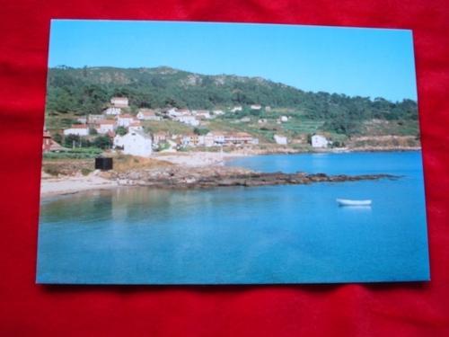 Tarxeta postal: Esteiro-Muros (A Coruña). Praia de Medrón. Anos 70