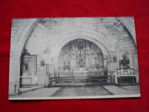 Tarxeta postal: Noia (Noya) - Antiga Igrexa de Santa María a Nova. 1920