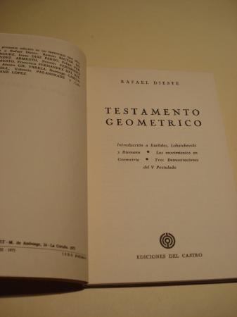Testamento geométrico
