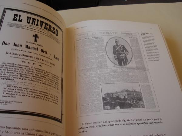 Colección histórica de periódicos del museo de La Voz de Galicia