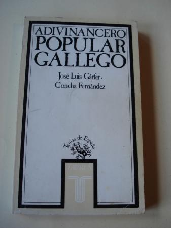 Adivinancero popular gallego