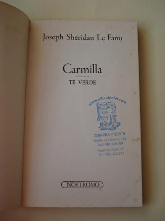 Carmilla / Té verde