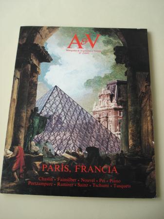 A & V Monografías de Arquitectura y Vivienda nº 17. París, Francia
