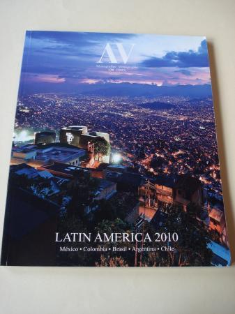A & V Monografías de Arquitectura y Vivienda nº 138. LATIN AMERICA. México.Colombia.Brasil.Argentina. Chile