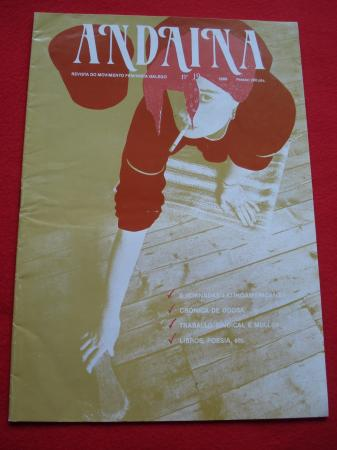 ANDAINA. Revista do Movimento Feminista. 1ª época. Nº 19. 1989