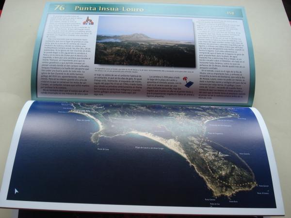 Aeroguía del litoral de Galicia (Texto en español)