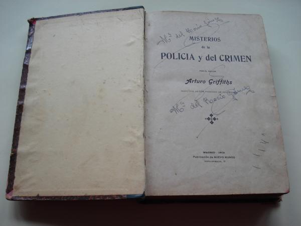 Misterios de la Policía y del crimen (1ª edición)