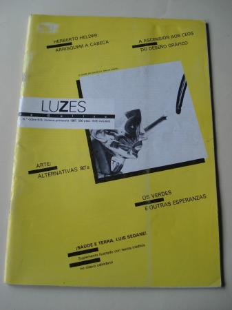 Luzes de Galiza. Nº 5/6 inverno-primavera 1987. Contén suplemento ilustrado con textos inéditos de Luis Seoane