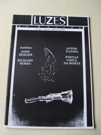 Luzes de Galiza. Nº 19-20 Verán 1992. Contén suplemento: Poemas John Berger