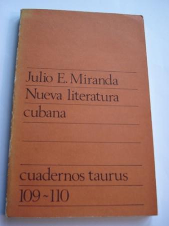 Nueva literatura cubana