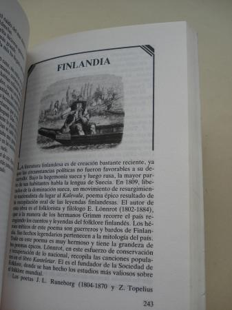 Historia y antología de la literatura infantil universal. TOMO I