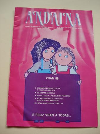 ANDAINA. Revista do Movimento Feminista Galego. 1ª época. Nº 18, xuño-xullo, 1989