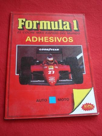 Fórmula 1. El coche más rápido del mundo. Adhesivos