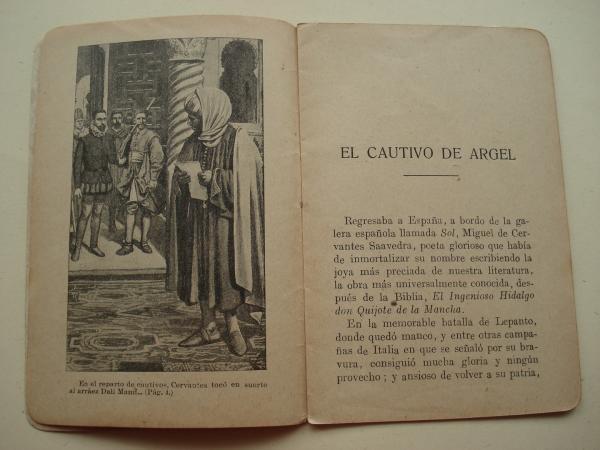 El Cautivo de Argel (Cervantes). Episodios Históricos. Serie IV. Núm. 15