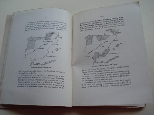 Geografía histórica y colonial de España