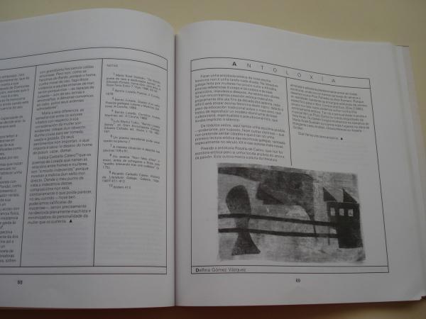FESTA DA PALABRA SILENCIADA. Publicación galega de mulleres. Núm. 8. Inverno 1991. Erotismo
