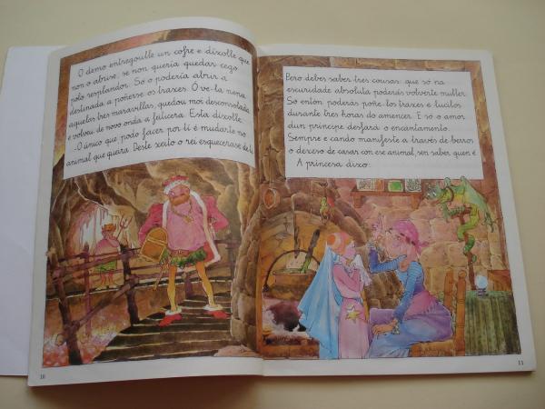 A burriña de prata - Periquiño e a Bruxa Curuxa - Un pobre rei - Os tres touriños