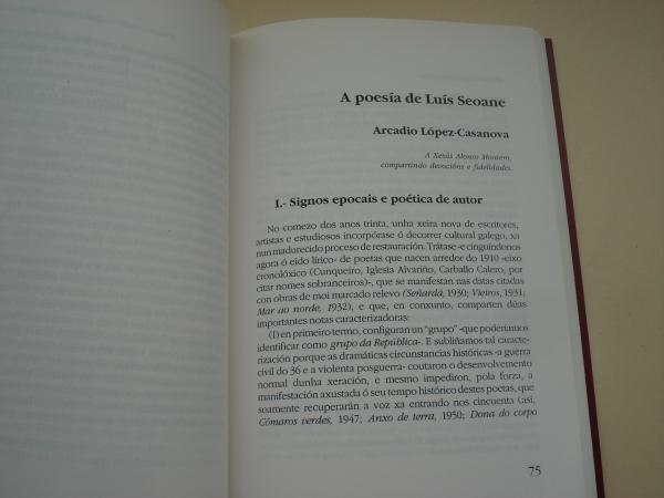 Luís Seoane (1910-1979). Día das Letras Galegas 1994. Textos de Alonso Montero, V. Álvarez Ruiz de Ojeda, I. Díaz Pardo, F. Fernández del Riego, A. López-Casanova, M. Núñez Rodríguez, Ricardo Palmás