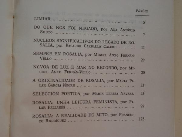 Rosalía de Castro. Unha obra non asumida