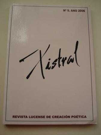 XISTRAL. Revista lucense de creación poética. Nº 9, 2006 -