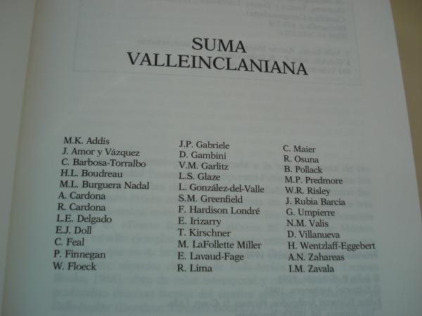Suma valleinclaniana