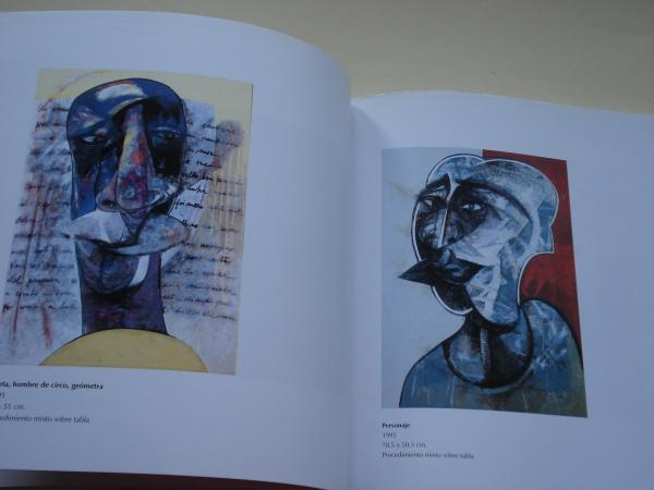 RAFAEL ÚBEDA. Sonorizaciones Pictóricas. Catálogo Exposición Palacio de Exposiciones Estación Marítima, A Coruña, 1999