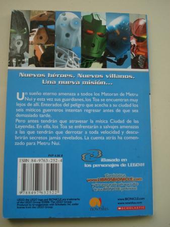 Laberinto de Sombras. Bionicle Crónicas, nº 6