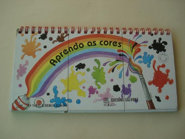 Aprendendo as cores. O meu libro-xogo