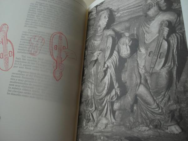 El Pórtico de la Gloria. Música, Arte y Pensamiento (Los instrumentos del Pórtico de la Gloria). Textos en castellano-galego-english