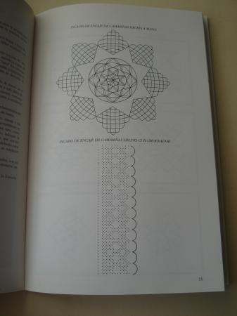 Características del encaje de Camariñas (Con esquemas y fotografías)