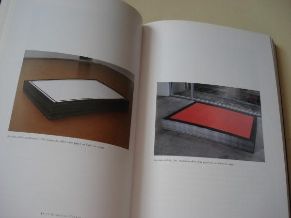 FÉLIX GONZÁLEZ-TORRES. Catálogo Exposición CGAC, Santiago de Compostela, 1995-1996 (Estudo de Nancy Spector, texto en español)
