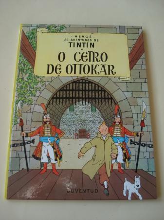 O cetro de Ottokar. As aventuras de Tintín (En galego). Tradución de Valentín Arias López
