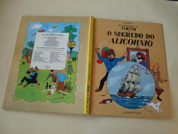 O segredo do Alicornio. As aventuras de Tintín (En galego). Tradución de Valentín Arias López
