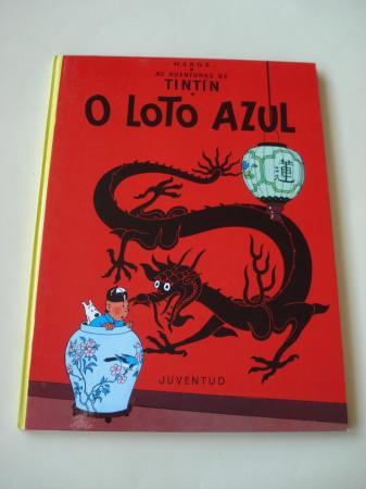 O Loto azul. As aventuras de Tintín (En galego). Tradución de Valentín Arias López