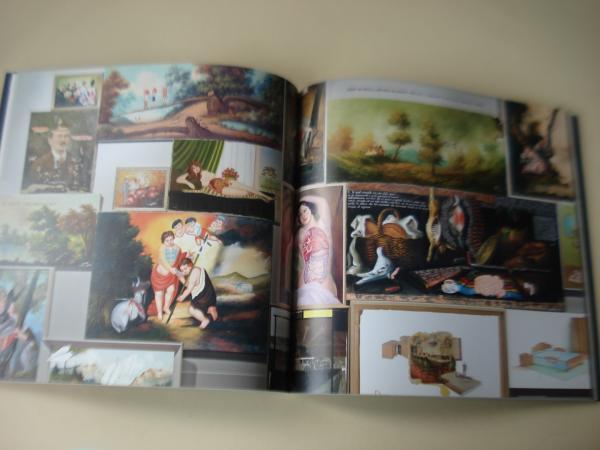 NONO BANDERA. 500 m2 de lienzo y 300 kilos de pintura. Catálogo exposición Kiosko Alfonso, A Coruña, 2012