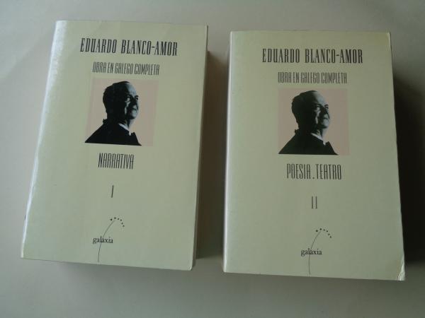 Obra en galego completa (2 tomos). Tomo I: Narrativa - Tomo II: Poesía.Teatro