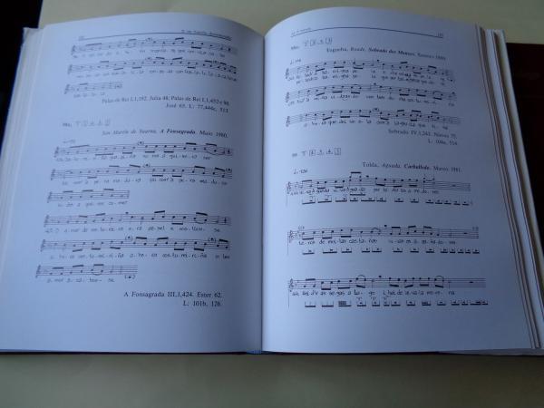 Cancioneiro Popular Galego. Volume I. Oficios e labores. Tomo I: Melodías / Tomo II: Letra (Con partituras, fotos e mapas)